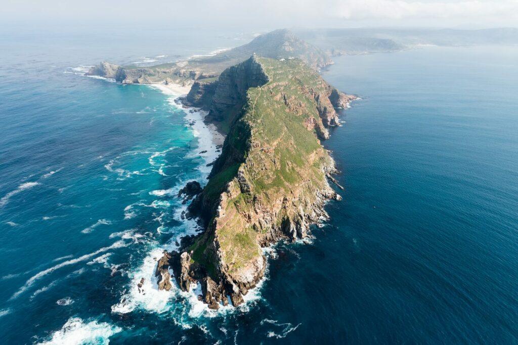 Kap der Guten Hoffnung, Südafrika: Inselspitze im Meer